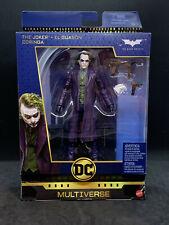 "DC Multiverse 6"" Deluxe Wave 3: The Dark Knight Joker (Heath Ledger)"