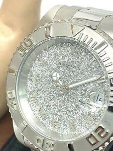 Invicta Women's Watch Angel 22706 Quartz Silver Stainless Steel Glitz Pave Dial