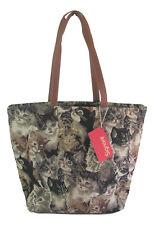 Signare Cat Large Tapestry Shoulder Bag Cats & Kittens Design