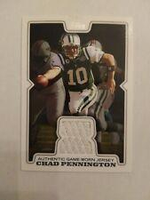 2008 Topps Chad Pennington New York Jets Marshall - Jersey