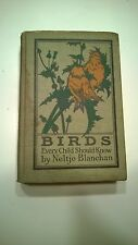 Birds Every Child Should Know Blanchan 1907 Antique Illustrations Ornithology