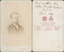 Haase, Cöln, Emil 1869 Vintage CDV albumen carte de visite CDV, tirage album