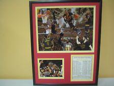 2016 Cleveland Cavaliers NBA CHAMPIONS LeBron James NBA Finals Trophy Photo