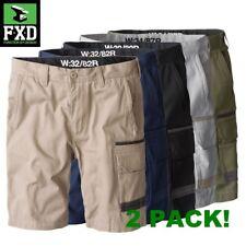 BRAND NEW! FXD 2 x WS-1 Tradie WORK SHORTS navy khaki black green all sizes