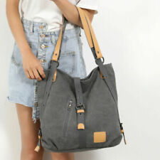 Women Casual Handbag Canvas Shoulder Bags Tote Travel Bag Backpack School Bag