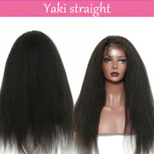 100% Brazilian Human Hair Curly 360 Frontal Full Lace Wigs Natural Baby Hair #N
