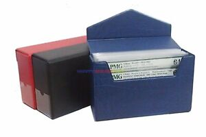 Storage Box For PMG Graded Banknotes Currency Holder Paper Money 13cm Height