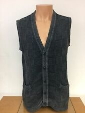 Vintage Armani Jeans 5 Button Sweater/Vest Size Large