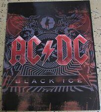 Ac/Dc 2010 'Black Ice' School Folder; Ex/Ex- Cond; New Old Stock Licensed Merch