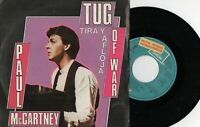 "PAUL MCCARTNEY - Tira Y Afloja / Consíguelo, SG  7"" SPAIN 1982 PROMO"