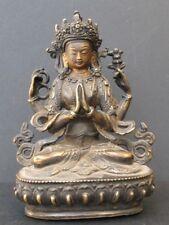 Bronze du Népal, Chenrezig Avalokiteswara
