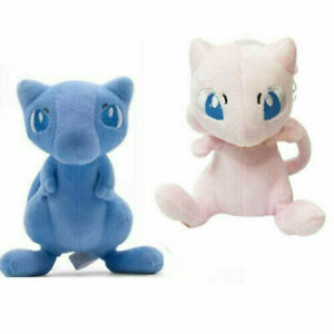"2pcs Cute Mew 7"" For Cartoon Dolls Christmas Gift Plush Toy Doll"