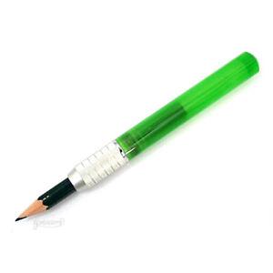 Rosetta Pencil Extender / Holder, Bright Green
