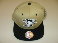 Pittsburgh Penguins Cap Hat Snapback Hockey Mitchell Ness Champions Patch 2009