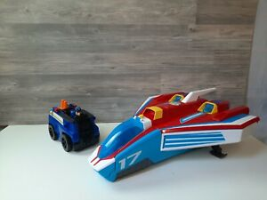 PAW PATROL SUPER PAWS MIGHTY 2 IN 1 JET PLANE TOY LIGHTS & SOUNDS Plus extras