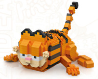 Garfield Lie Down LOZ Diamond Building Blocks iBlock Fun a AR31