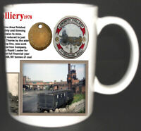 LANGWITH COLLIERY COAL MINE MUG. LIMITED EDITION GIFT MINERS DERBYSHIRE PIT