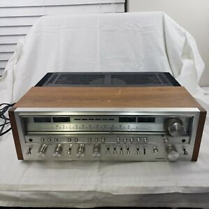 Vintage Pioneer SX-1280 AM FM Stereo Receiver Powers On For Repair or Parts