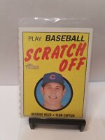 Anthony Rizzo 2019 Topps Heritage #8 70's SCRATCH OFFS Chicago Cubs