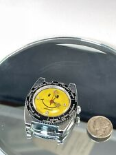 Watch.Rare.Hong Kong Dial Vintage Lucerne Smiley Face
