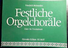 Orgel Noten Festliche Orgelchoräle Friedrich Reimerdes Oster- bis Trinitatiszeit