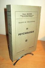 Traité de Philosophie de R.JOLIVET - Tome II- Psycologie
