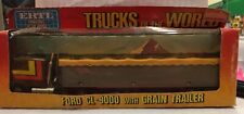 Ertl Trucks of the World Ford CL-9000 with Grain Trailer 1/64