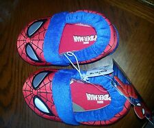 Boys Toddler Spiderman Slippers, sizes S,M,or L,NWT