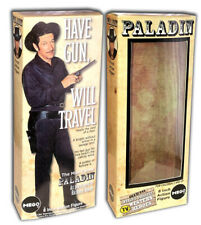 """Mego Paladin Box for 8"""" Action Figure Have Gun Will Travel"""