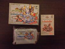 Gundam Gachapon Senshi 3 Super Robot Taisen Famicom Nintendo NES jap