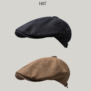 Unisex Newsboy Gatsby Flat Cap Linen Hat Duckbill Cabbie Beret Ivy Golf