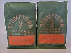Stumptown Hair Bender Whole Bean Coffee 12 oz Bag 2 Pack Citrus & Dark Chocolate