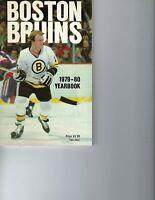 1979-80 hockey yearbook Boston Bruins GOOD