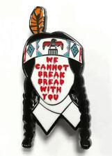 BREAK BREAD ENAMEL PIN BY TOXIC TOAST RECORDS
