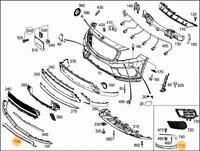 Neuf Véritable Mercedes-Benz Gla-Classe avant Gauche Droit Centre Pare-Choc Bord