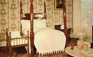 Vintage Postcard Bedroom of Andrew Jackson Jr. Hermitage Nashville TN