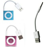 USB Charger Data Sync Cable Cord For iPod Shuffle 3rd 4th 5th Generation