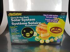 New Geosafari Glow in the dark Solar system  , phosphorescent planets sun