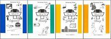 Life of Fred Elementary Series SET of 4--Edgewood, Farming, Goldfish, Honey NEW