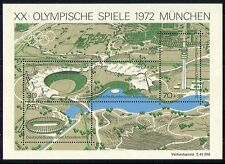 Germany 1972 Sports/Olympic Games/TV/Television Mast/Stadium 4v m/s (n31038)