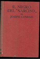 CONRAD JOSEPH IL NEGRO DEL NARCISO SONZOGNO 1928 ROMANTICA MONDIALE 5