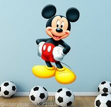 Disney Mickey Mouse Wall Room Decor Art Decal Sticker Birthday Gift Xmas