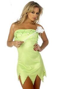 MISS PIXIE SEXY FAIRY FANCY DRESS ASSORTED SIZES