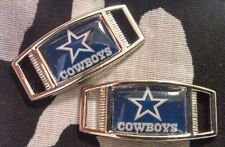 Set Of 2 Dallas Cowboys NFL Shoelace Charms For Paracord Projects