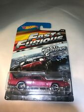 Hot Wheels  2015 Red Fast And Furious 1/8 '69 Dodge Charger Daytona