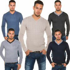 Unifarbene Herren-Pullover & -Strickware aus Wolle mit regular Länge