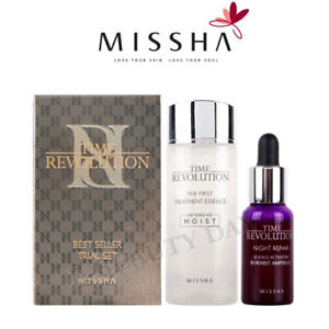 [MISSHA] Time Revolution Best Seller Trial Essence, Ampoule / Korean Cosmetics