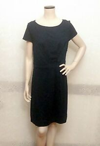 Brooks Brothers Scoop Neck Navy Dress, Size 10, MSRP: $149.50, NWT