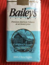 Vintage Bailey's Ultra Light 100's cigarettes Keysville,VA