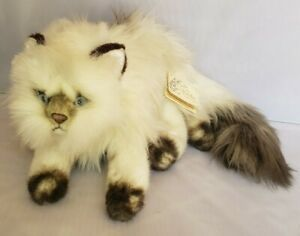 Yomiko Plush Himalayan Persian Kitty Cat Russ Berrie Blue Eyes, Point Coloration